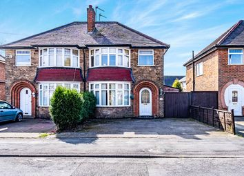 Thumbnail 3 bed semi-detached house for sale in Scotlands Drive, Coalville