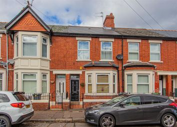 Thumbnail 3 bed property for sale in Gelligaer Street, Cathays, Cardiff