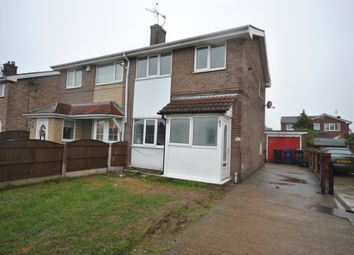 Thumbnail 3 bed semi-detached house to rent in Measham Drive, Stainforth, Doncaster