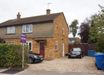 Thumbnail 2 bed semi-detached house for sale in Sawyers Crescent, Maidenhead