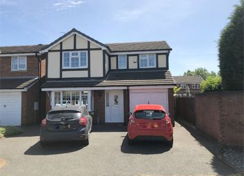 Thumbnail 4 bed detached house for sale in Denbigh Close, Stretton, Burton-On-Trent, Staffordshire