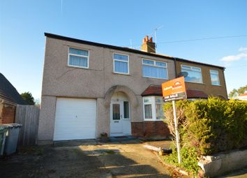 Thumbnail 4 bed semi-detached house for sale in Meadowbrook Road, Moreton, Wirral