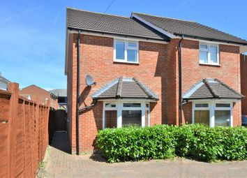 Thumbnail 2 bed semi-detached house for sale in Lysons Road, Aldershot