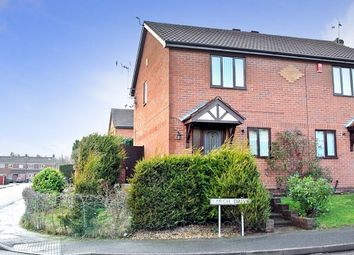Thumbnail 2 bed semi-detached house to rent in Larch Drive, Sandiacre, Nottingham