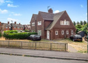 Thumbnail 3 bed semi-detached house for sale in Petworth Drive, Nottingham