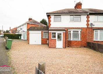 Thumbnail 3 bed semi-detached house for sale in Gwencole Crescent, Leicester