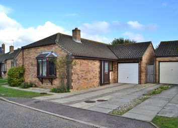 Thumbnail 3 bed detached bungalow for sale in Priory Road, Fressingfield, Suffolk
