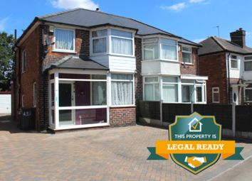Thumbnail 3 bed semi-detached house for sale in Bromford Road, Birmingham