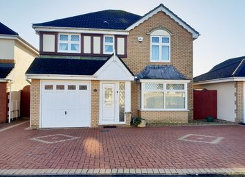 Thumbnail 4 bed detached house for sale in Cae Ganol, Nottage, Porthcawl