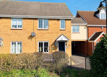 Thumbnail 3 bed end terrace house for sale in Waterleaze, Maidenbrook, Taunton