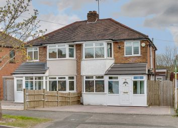 Thumbnail 3 bed semi-detached house for sale in Hillview Road, Rubery, Birmingham