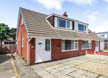 Thumbnail 3 bed semi-detached bungalow for sale in Mallom Avenue, Euxton, Chorley, Lancashire
