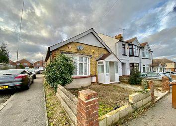 Thumbnail 2 bed semi-detached house to rent in Salisbury Avenue, Rainham, Gillingham