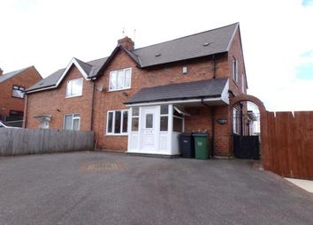 Thumbnail 3 bed semi-detached house for sale in Delville Road, Wednesbury, West Midlands