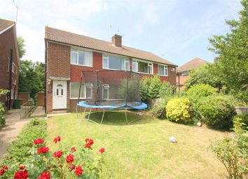 Thumbnail 2 bedroom maisonette to rent in Meadow Court, Moor Lane, Staines-Upon-Thames, Surrey