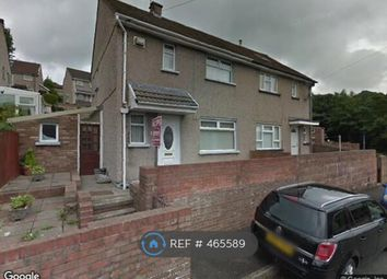 Thumbnail 2 bed semi-detached house to rent in St Lukes Road, Porth