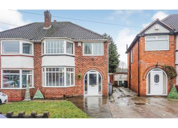 3 bed semi-detached house for sale in Mullensgrove Road, Birmingham B37