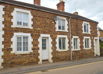 Thumbnail 3 bed terraced house to rent in High Street, Broughton, Kettering