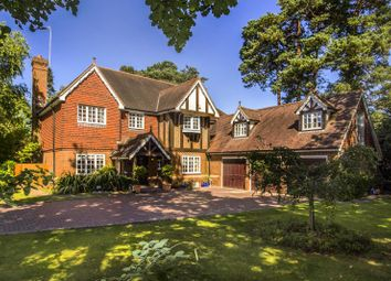 Thumbnail 7 bed detached house for sale in Old Woking Road, Pyrford, Woking