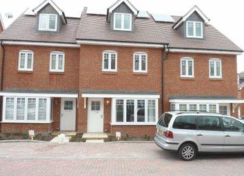 Thumbnail 4 bedroom terraced house to rent in Elham Crescent, Dartford