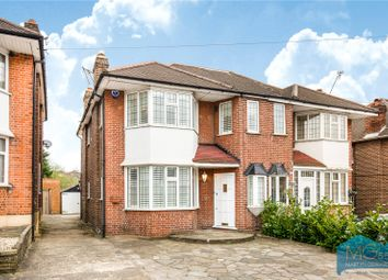 Thumbnail 3 bed semi-detached house for sale in Osidge Lane, Southgate, London
