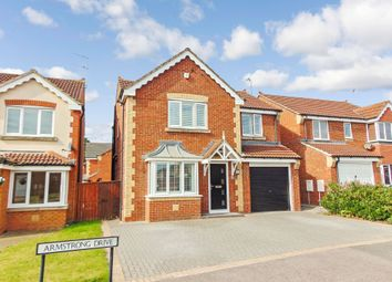 Thumbnail 4 bed detached house for sale in Armstrong Drive, Willington, Crook