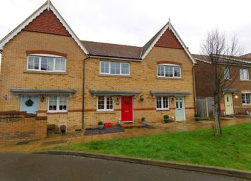 Thumbnail 2 bed terraced house for sale in Conquest Drive, Hailsham, East Sussex