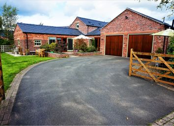 Thumbnail 4 bed detached house to rent in Cowbrook Lane, Gawsworth