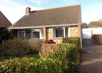 Thumbnail 2 bed detached bungalow for sale in Bapton Close, Exmouth, Devon