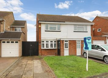 Thumbnail 2 bed semi-detached house for sale in Claremont Road, Hextable, Swanley