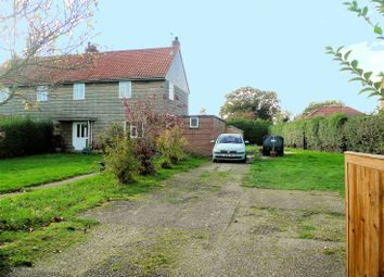 Thumbnail 3 bed property for sale in Sutton Crescent, Freethorpe, Norwich