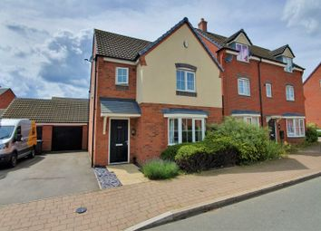 Thumbnail 3 bed detached house for sale in Hallam Fields Road, Birstall, Leicester