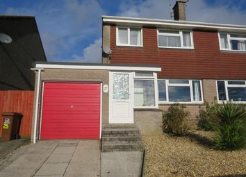 Thumbnail 3 bedroom semi-detached house to rent in Fernhill Close, Ivybridge