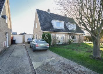 Thumbnail 3 bedroom semi-detached house for sale in Newton Road, Sawtry, Huntingdon