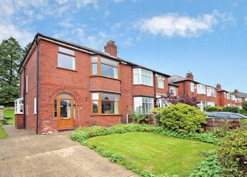 Thumbnail 3 bed semi-detached house for sale in Mansion Avenue, Whitefield, Manchester