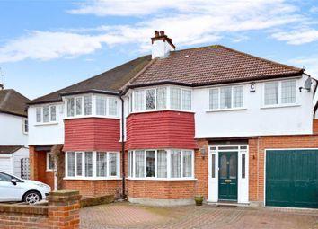 Thumbnail 3 bed semi-detached house for sale in Milton Avenue, Sutton, Surrey