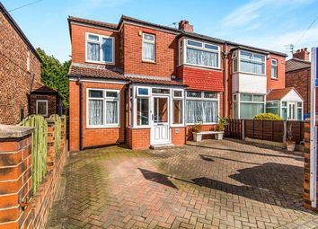 Thumbnail 4 bed semi-detached house for sale in Broadstone Hall Road South, Stockport
