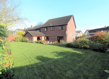 Thumbnail 4 bed detached house for sale in Grosmont Close, Blackwood