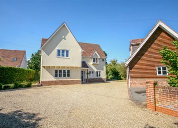 Thumbnail 4 bed detached house for sale in Ipswich Road, Woodbridge