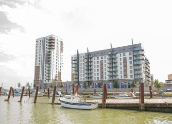 Thumbnail 2 bed flat for sale in The Peninsula, West Tower, Victory Pier, Pearl Lane, Gillingham