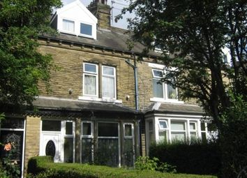 Thumbnail 6 bed terraced house to rent in Keighley Road, Frizinghall, Bradford, West Yorkshire