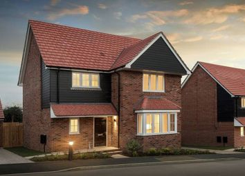 "Thumbnail 4 bed detached house for sale in ""The Carlton"" at Bury Water Lane, Newport, Saffron Walden"