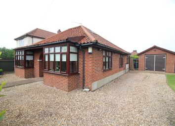 Thumbnail 3 bed detached bungalow for sale in Boundary Road, Norwich