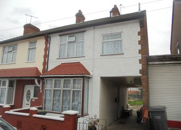Thumbnail 4 bed semi-detached house to rent in Mansfield Road, Luton