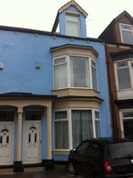 Thumbnail 6 bed shared accommodation to rent in Crescent Road, Middlesbrough
