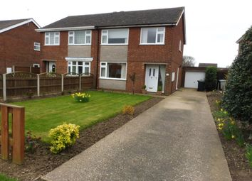 Thumbnail 3 bed semi-detached house to rent in Andrews Close, Louth
