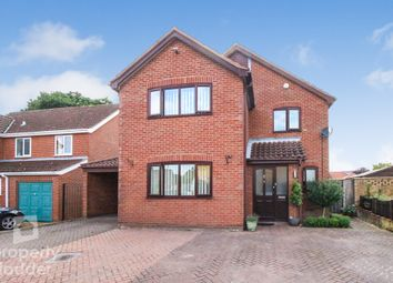 Thumbnail 4 bed detached house for sale in Hunt Close, Old Catton, Norwich