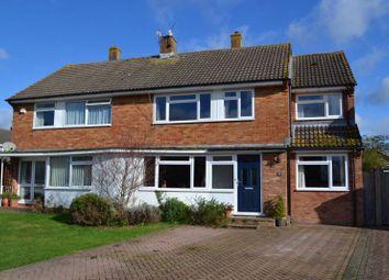 Thumbnail 4 bed semi-detached house for sale in Arne Close, Tonbridge