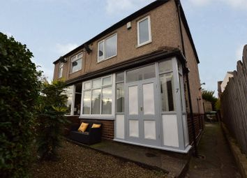 Thumbnail 3 bed semi-detached house for sale in Owlcotes Drive, Pudsey, West Yorkshire