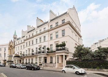 Thumbnail 4 bedroom flat for sale in West Halkin Street, London